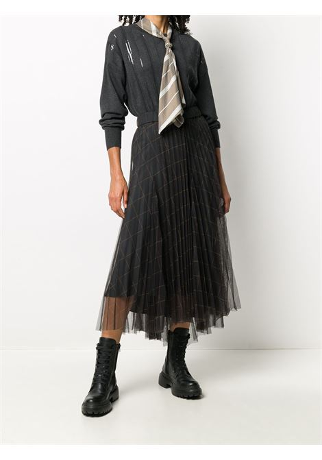 Black skirt BRUNELLO CUCINELLI | SKIRTS | MA173G2988C002