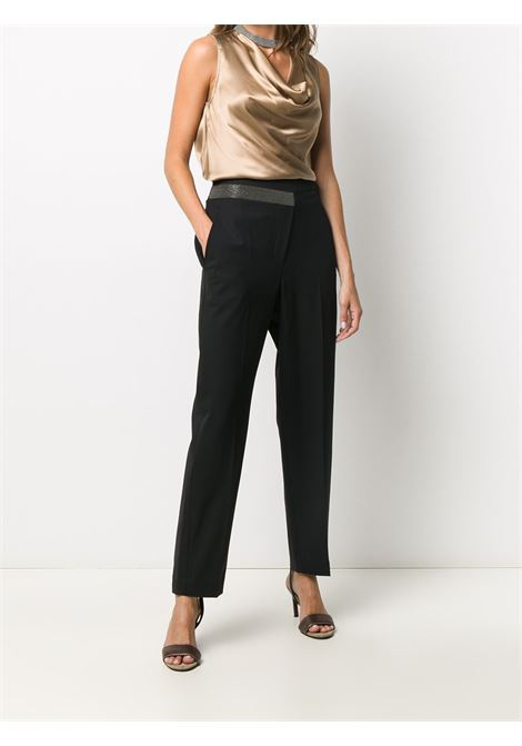 Black trousers BRUNELLO CUCINELLI | TROUSERS | MB526P7413C101