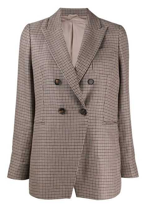 Checked jacket BRUNELLO CUCINELLI | JACKETS | MD4638595C002