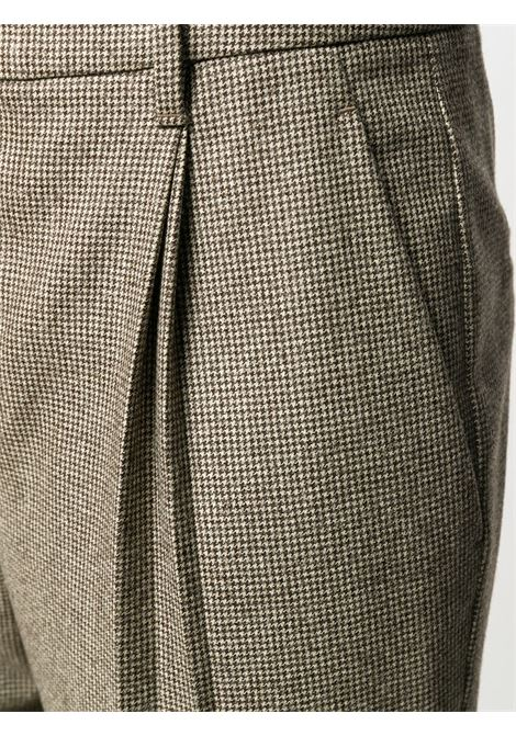 Brown trousers BRUNELLO CUCINELLI | TROUSERS | MG454P7445C002