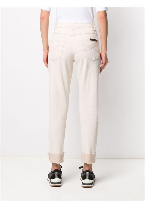 Pantalone beige BRUNELLO CUCINELLI | PANTALONI | MH119P5561C006
