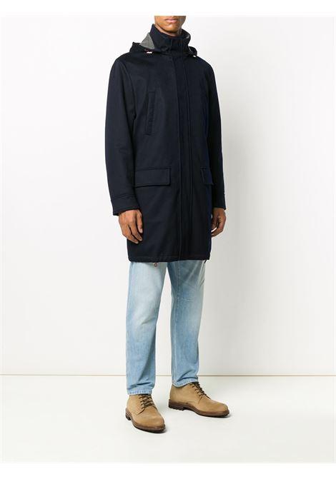 Cappotto blu BRUNELLO CUCINELLI | GIUBBOTTI | MM4006402CI623