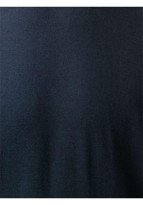 Maglia blu BRUNELLO CUCINELLI | T-SHIRT | MTS377427CU920