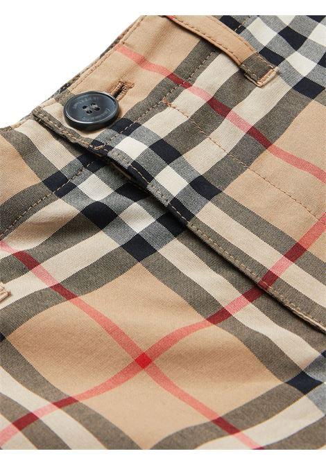 Pantaloncini beige BURBERRY KIDS | SHORTS | 8014135A7028