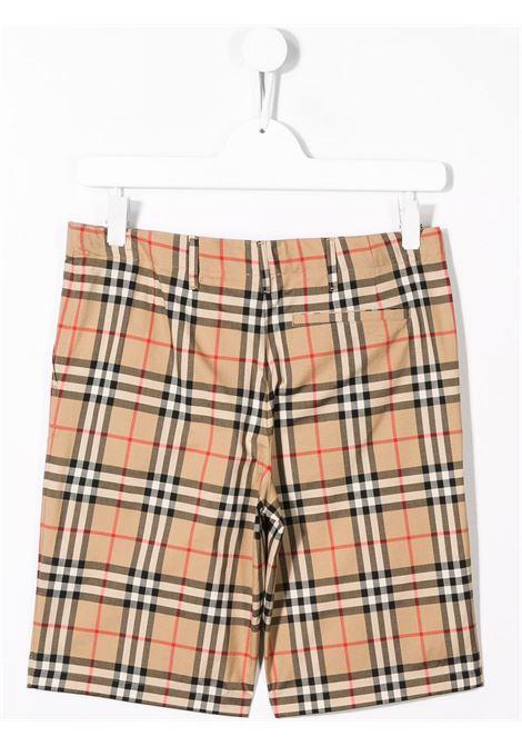 Pantaloncini beige BURBERRY KIDS | SHORTS | 8014135TA7028