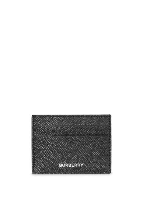 Portacarte nero BURBERRY | MINUTERIA | 8014662A1189