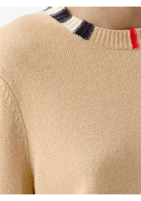 Beige jumper BURBERRY | SWEATER | 8020391A7026