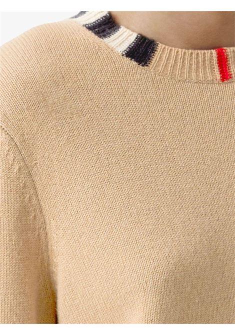 Maglia beige BURBERRY | MAGLIONE | 8020391A7026