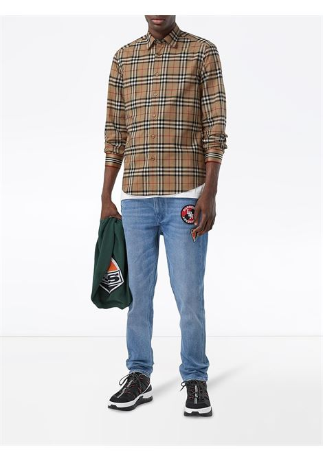 Beige shirt BURBERRY | SHIRTS | 8027778A7028