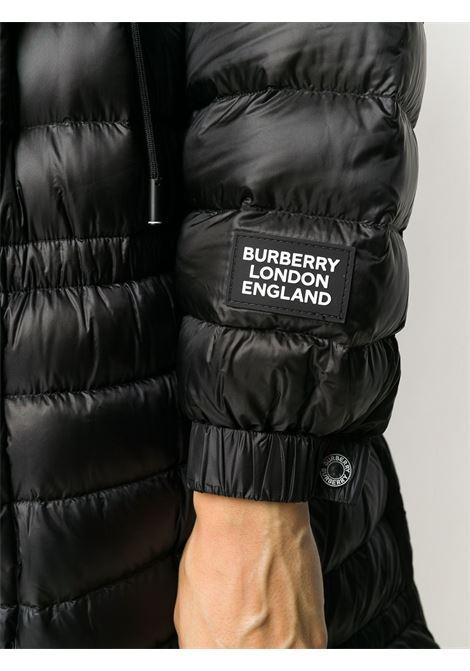 Piumino nero BURBERRY | PIUMINI | 8028666A1189