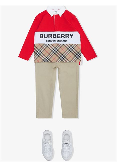 Polo rossa BURBERRY | POLO | 8028675A1460