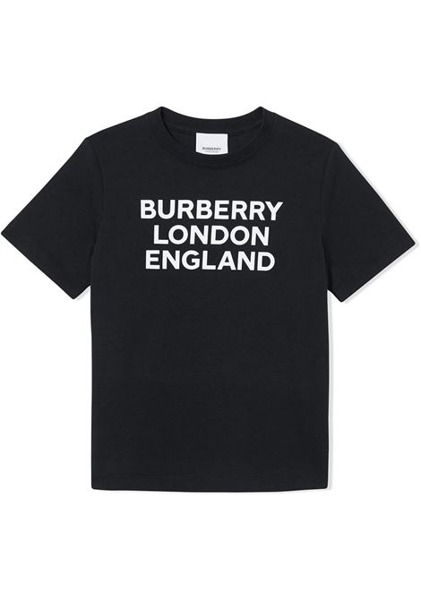 T-shirt nera BURBERRY | T-SHIRT | 8028809BA1189