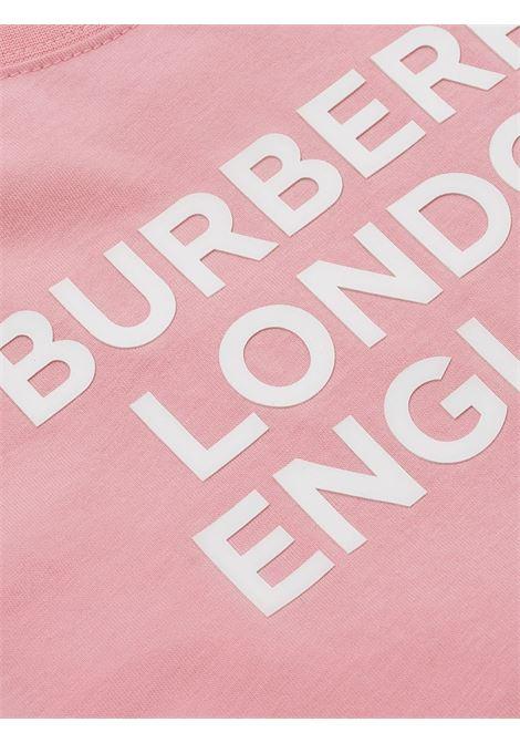 Maglia rosa BURBERRY | T-SHIRT | 8028810A3245