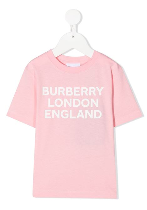 T-shirt rosa BURBERRY | T-SHIRT | 8028810BA3245