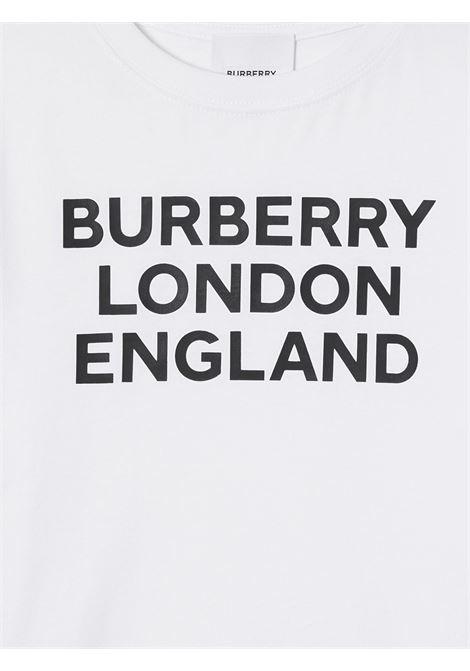 Maglia bianca BURBERRY | T-SHIRT | 8028811A1464