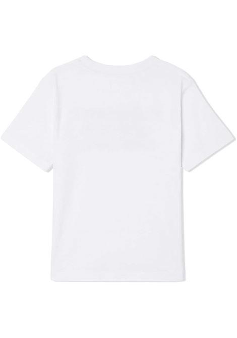 T-shirt bianca BURBERRY | T-SHIRT | 8028811A1464