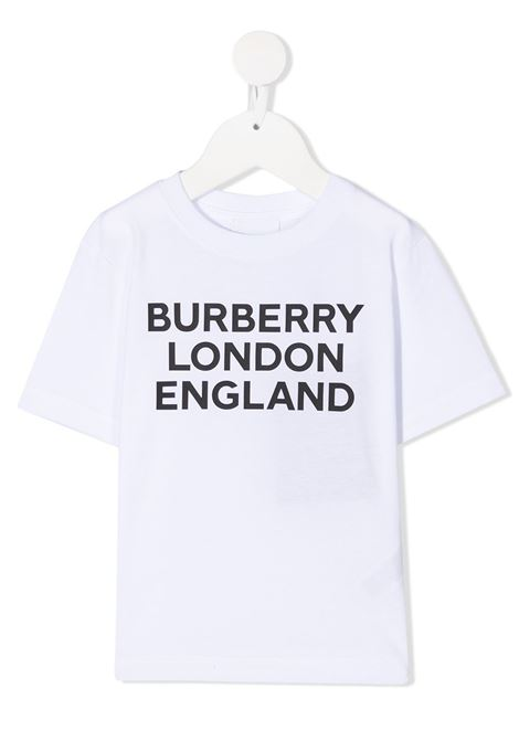 T-shirt bianca BURBERRY | T-SHIRT | 8028811BA1464