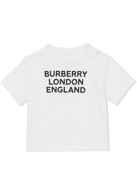 T-shirt bianca BURBERRY | T-SHIRT | 8028819A1464