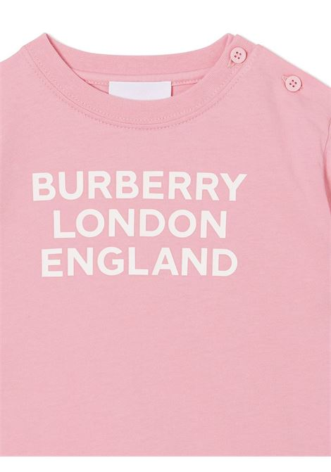 T-shirt rosa BURBERRY | T-SHIRT | 8028822A3245