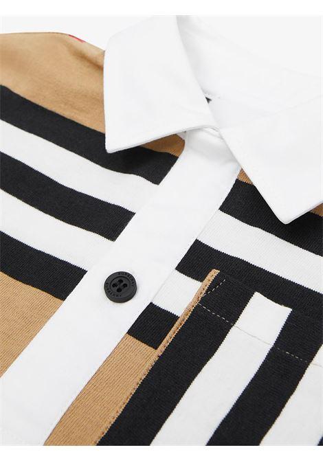 Beige polo shirt BURBERRY | POLO | 8030064A7029