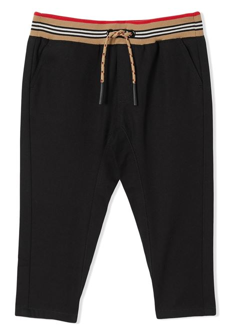 Black trousers BURBERRY | TROUSERS | 8030130A1189