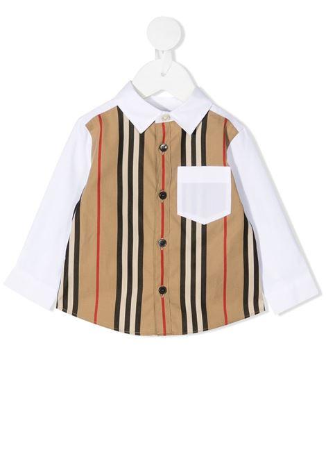 Camicia bianca/multicolore BURBERRY | CAMICIE | 8030290A1464
