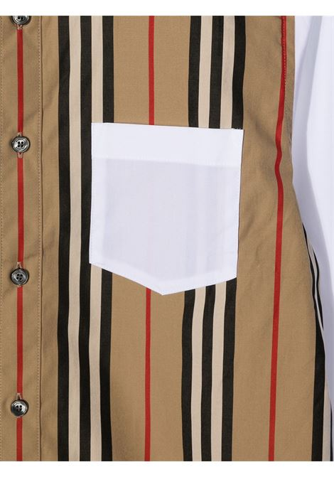 Camicia bianca BURBERRY | CAMICIE | 8030694TA1464