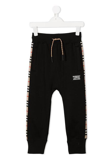 Pantalone blu BURBERRY | PANTALONI | 8031658A1189