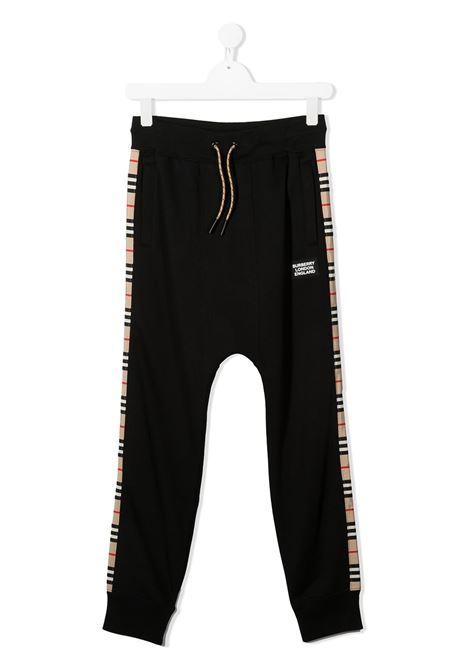 Pantalone blu BURBERRY | PANTALONI | 8031658TA1189