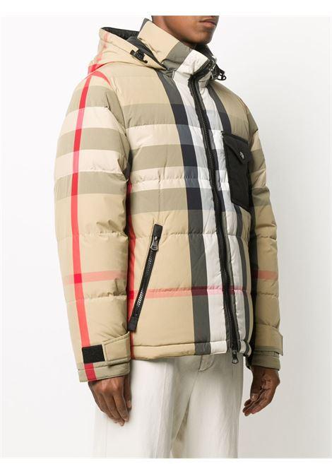 Beige/black jacket BURBERRY | PADDED JACKET | 8033115A7028