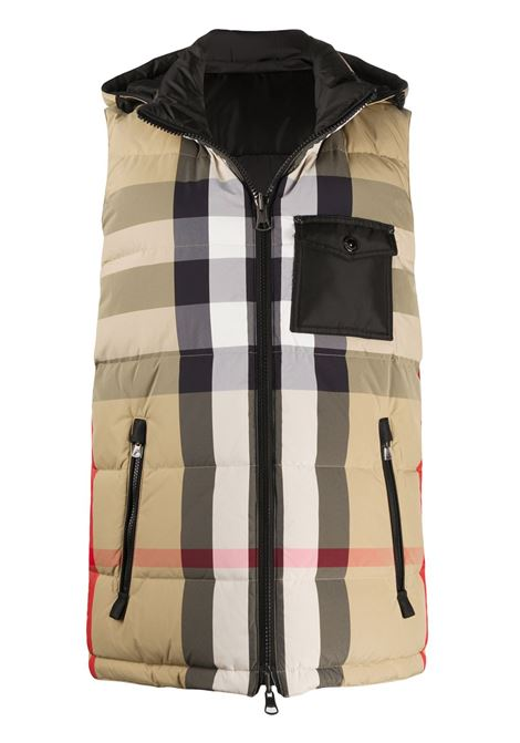 Beige gilet BURBERRY | PADDED GILET | 8033432A7028