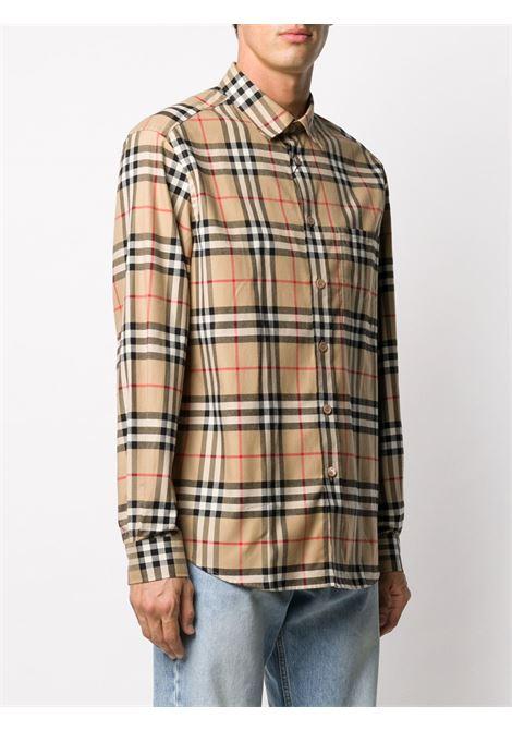 Beige shirt BURBERRY | SHIRTS | 8033703A7028