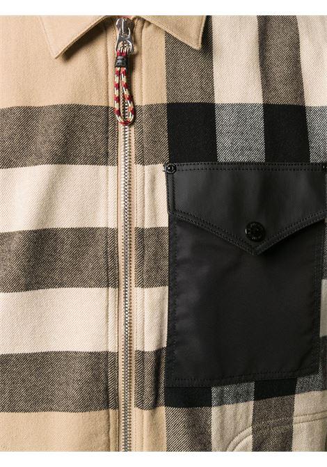 Beige shirt BURBERRY | SHIRTS | 8033815A7028