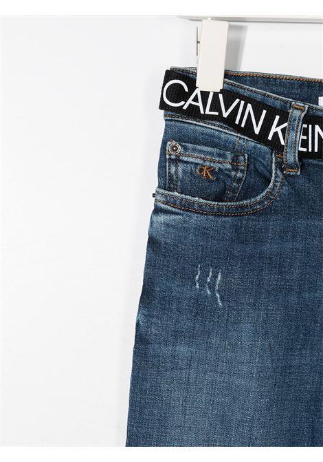 Jeans blu CALVIN KLEIN | JEANS | IB0IB005801A4