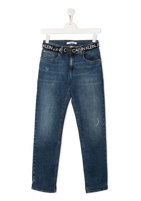 Jeans blu CALVIN KLEIN | JEANS | IB0IB00580T1A4