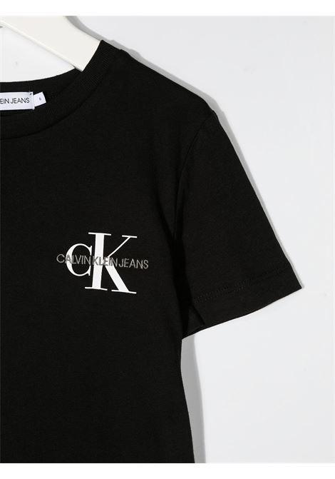 T-shirt nera CALVIN KLEIN | T-SHIRT | IB0IB00612BEH