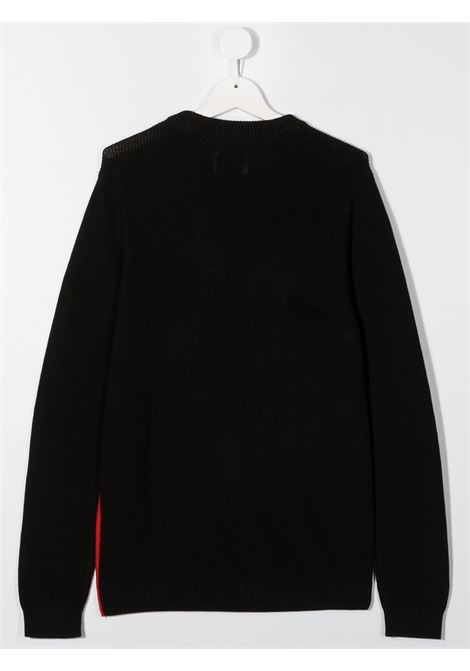 Maglione nero/rosso CALVIN KLEIN | FELPE | IB0IB00621TXND
