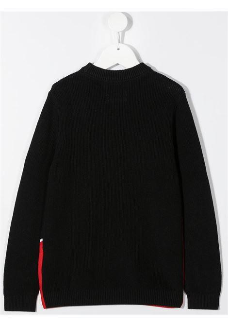 Maglione nero/rosso CALVIN KLEIN | FELPE | IB0IB00621XND