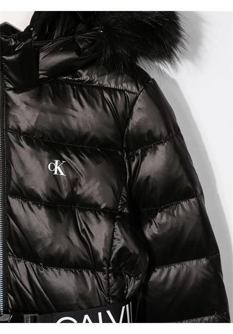 Cappotto nero CALVIN KLEIN | PIUMINI | IG0IG00596BEH