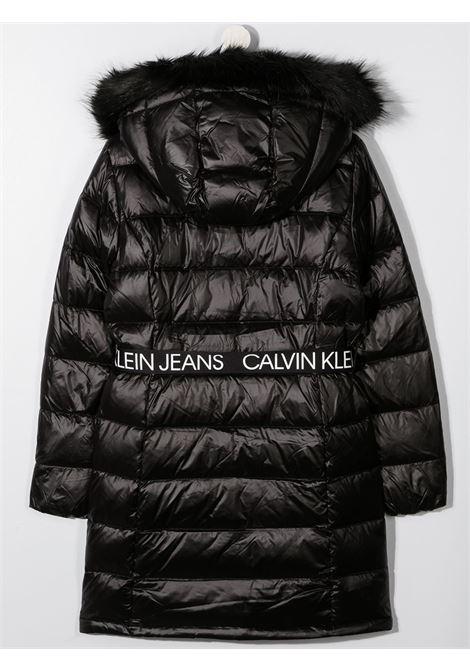Cappotto nero CALVIN KLEIN | PIUMINI | IG0IG00596TBEH