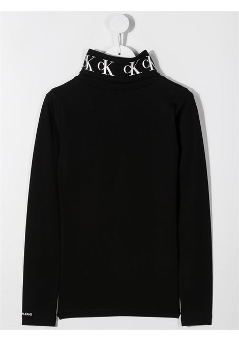 Black t-shirt CALVIN KLEIN | JERSEYS | IG0IG00674TBEH