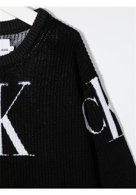 Maglione nero CALVIN KLEIN | FELPE | IG0IG00679BEH