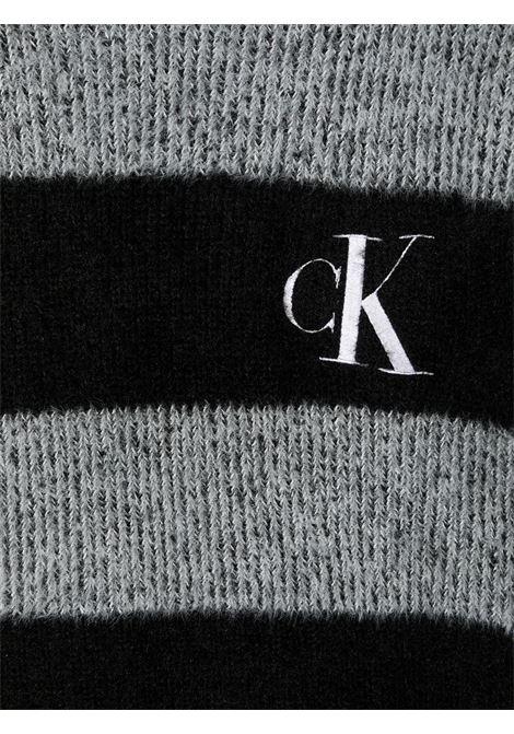 Maglione nero/bianco CALVIN KLEIN | MAGLIONE | IG0IG00681T0AP