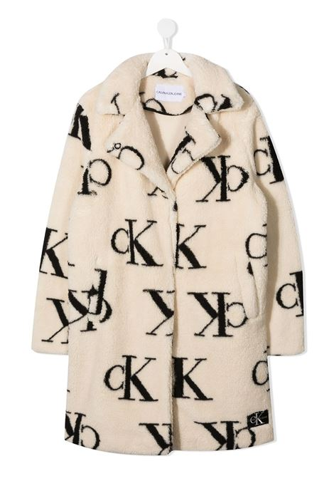 Cappotto beige CALVIN KLEIN | CAPPOTTI | IG0IG00705T0K7