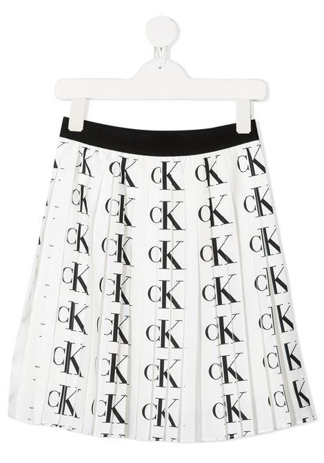 White skirt CALVIN KLEIN | SKIRTS | IG0IG007250K6