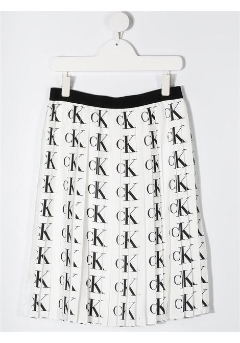 White skirt CALVIN KLEIN | SKIRTS | IG0IG00725T0K6