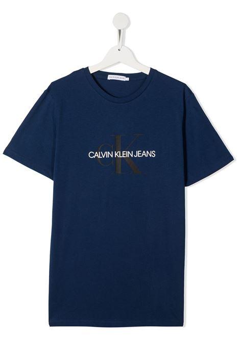 T-shirt blu CALVIN KLEIN | T-SHIRT | IU0IU00068TC5G