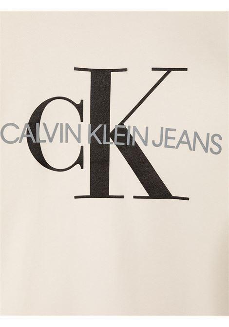 Maglia bianca CALVIN KLEIN | FELPE | IU0IU00069TPGB