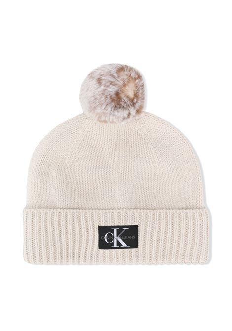 Cappello grigio CALVIN KLEIN | BERRETTI | IU0IU00148PGB