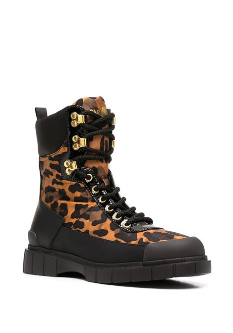 Stivali leopardati CAR SHOE | ANFIBIO | KDT65O3LDBF0151